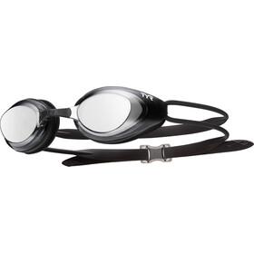 TYR Blackhawk Racing Polarized Okulary pływackie Mężczyźni, czarny
